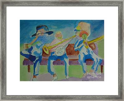 Catastrophic Cacophony Framed Print by Joe Hagarty
