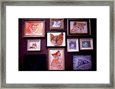 Catastrophy  Wall Framed Print