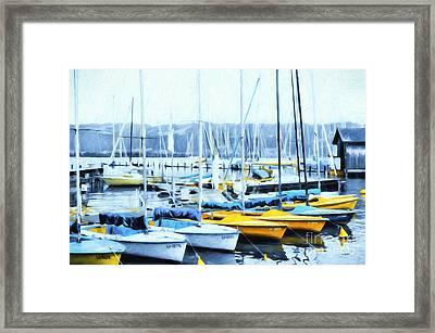 Catboats Framed Print