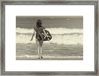 Catch A Wave Framed Print by JAMART Photography