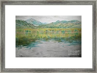 Catch And Release Reflections  Framed Print by Jeanette Skeem