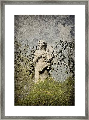 Catch Her Breath Framed Print by Bill Cannon