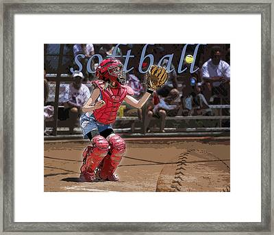 Catch It Framed Print by Kelley King