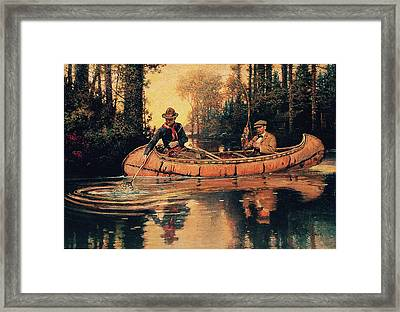 Catch Of The Day Framed Print by Philip R Goodwin