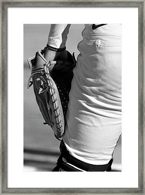 Catch Please Framed Print