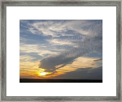 Catch The Morning Sun Framed Print