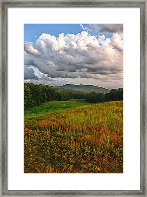 Catcher 101 Framed Print by Nathan Larson