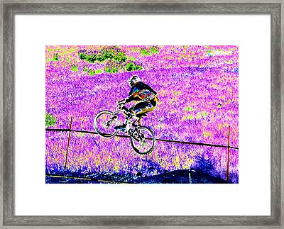 Catching Air Framed Print by Peter  McIntosh