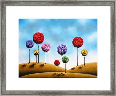 Catching Dreams Framed Print by Rachel Bingaman