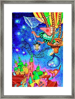 Catching Stars Framed Print