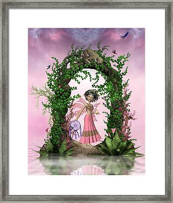 Catching The Dream Framed Print by Morning Dew