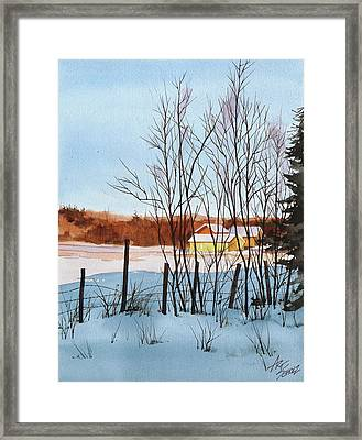 Catching The Light Framed Print by Art Scholz