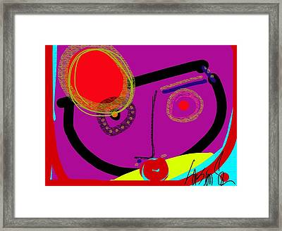 Catching The Redeye Framed Print