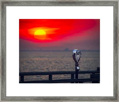 Catching The Sunset Framed Print by Eduard Moldoveanu