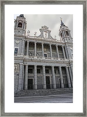 Catedral De La Almudena 2 Framed Print by Angel Jesus De la Fuente