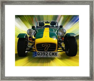 Caterham 7 Framed Print