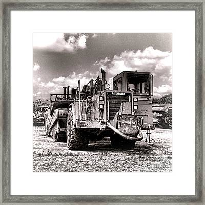 Caterpillar Framed Print by Olivier Le Queinec