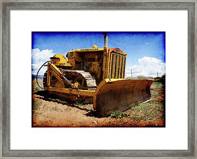 Caterpillar Twenty Two Framed Print