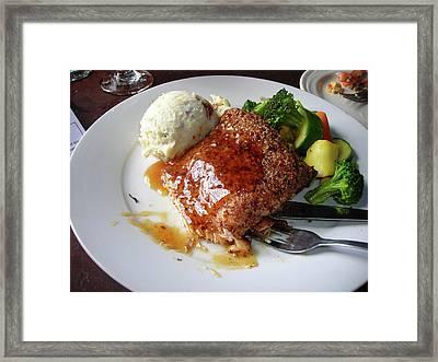 Catfish Dinner Framed Print