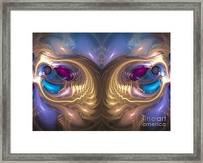 Catharsis - Abstract Art Framed Print