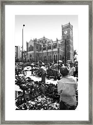 Cathedral Church Of Christ, Marina Framed Print
