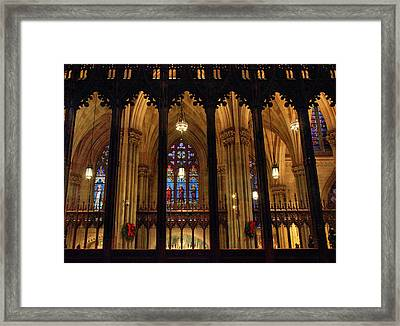 Cathedral Arches Framed Print