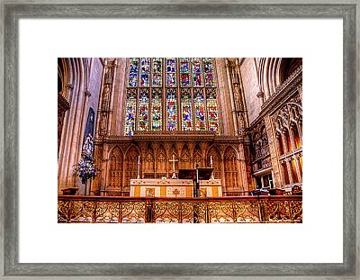 Cathedral Architecture 01 Framed Print by Svetlana Sewell