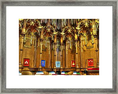 Cathedral Architecture 02 Framed Print by Svetlana Sewell