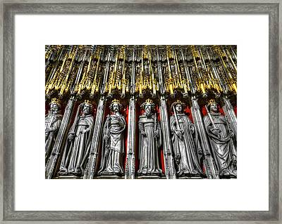 Cathedral Architecture 03 Framed Print by Svetlana Sewell