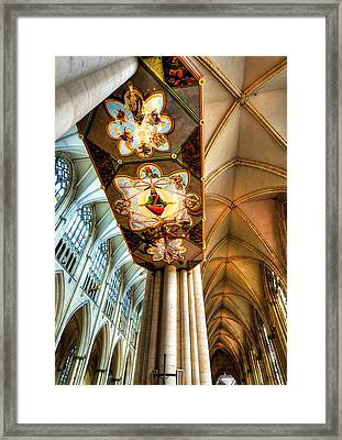 Cathedral Architecture 04 Framed Print by Svetlana Sewell