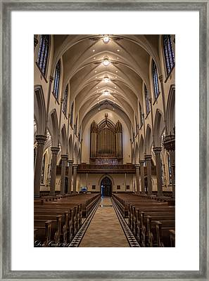 Cathedral Architecture  Framed Print