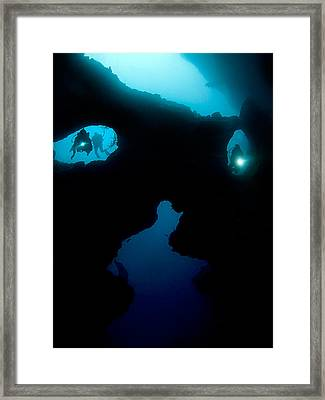 Cathedral At Pescador Island Framed Print by Henry Jager