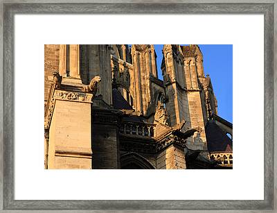 Cathedral Basilica Of Our Lady Of Amiens Framed Print