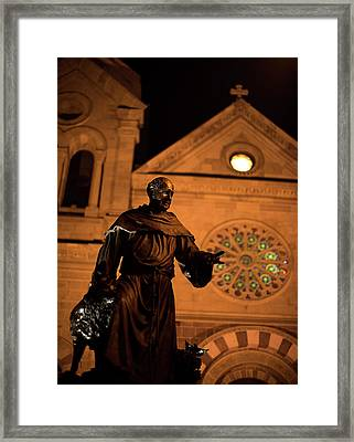 Cathedral Basilica Of Saint Francis Of Assisi Framed Print