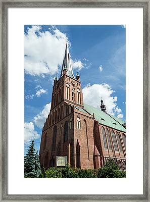 Cathedral Basilica Of St. James The Apostle, Szczecin A Framed Print