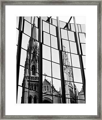 Cathedral Framed Print by Brendon Bradley