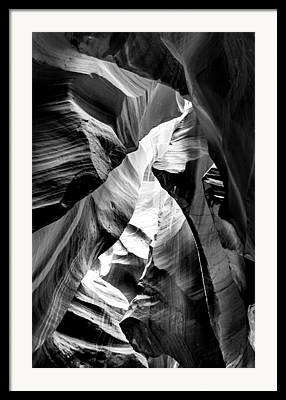 Exit Framed Prints