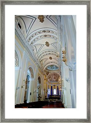Cathedral De San Juan Bautista Framed Print by Gary Little