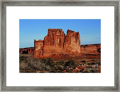 Framed Print featuring the photograph Cathedral by Edward R Wisell