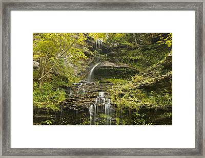 Cathedral Falls 3235 Framed Print