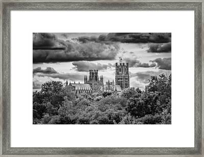 Cathedral From The North-east Framed Print