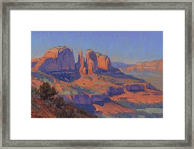 Cathedral In The Heat Framed Print by Cody DeLong