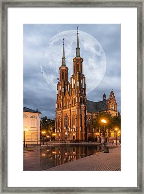 Framed Print featuring the photograph Cathedral by Jaroslaw Grudzinski