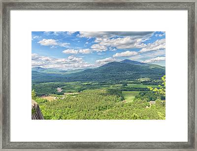 Cathedral Ledge Framed Print by Brian MacLean