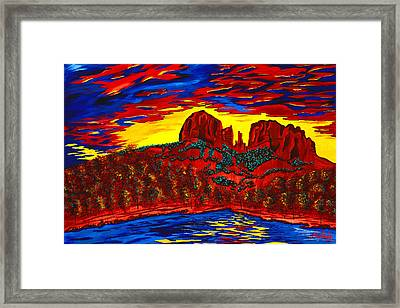 Cathedral Magic Framed Print by Clark Sheppard