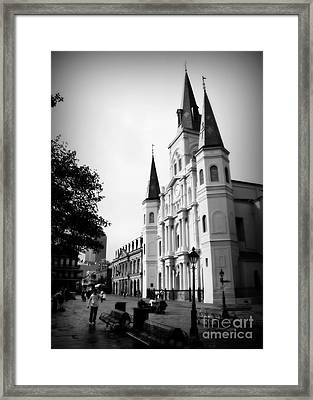 Cathedral Morning 2 Framed Print
