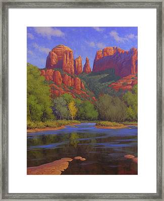 Cathedral Morning Framed Print