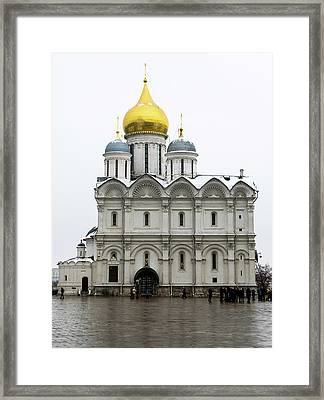Cathedral Of Archangel Michael Framed Print