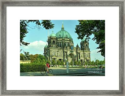 Cathedral Of Berlin  Framed Print by Rob Hawkins