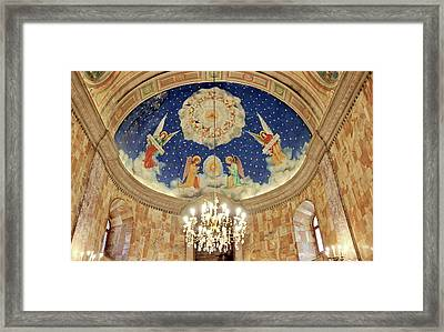 Cathedral Of Our Lady Of Perpetual Succour Prizren Kosovo Framed Print by Marcin Konsek